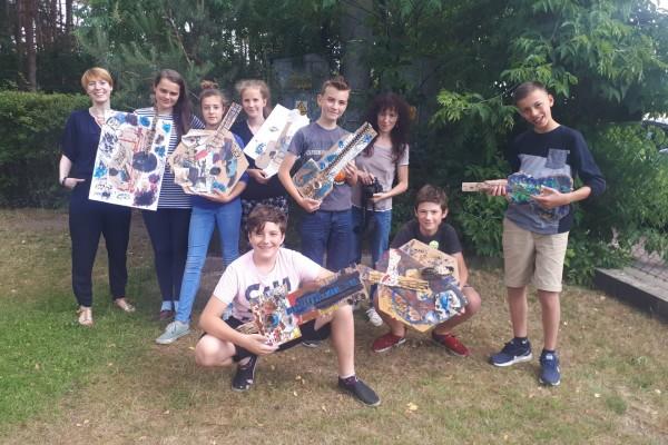 Picasso, gitara i klasa 6